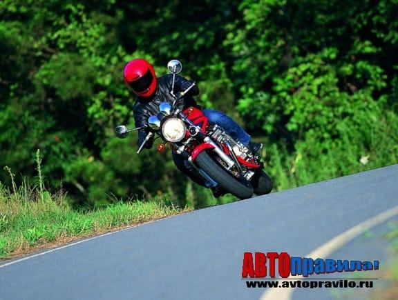 Езда без прав на мотоцикле