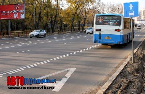 Могут ли таксисты ездить по автобусной полосе