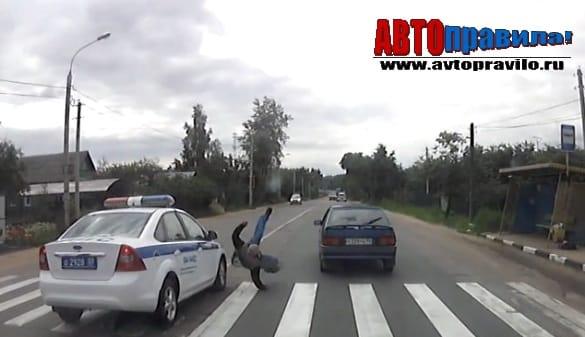 Штраф за обгон на переходе для пешеходов