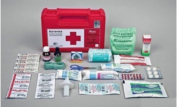 Состав аптечки 2015