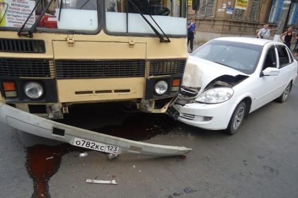 ДТП - столкновение автомобилей