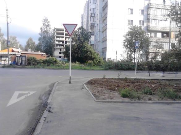 Уступи дорогу на перекрестке