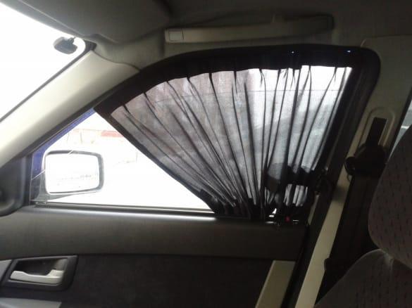 Штраф за шторки на стеклах