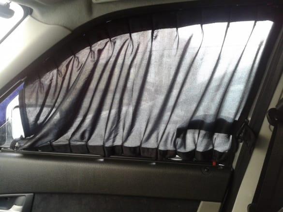 Штроки на передних стеклах